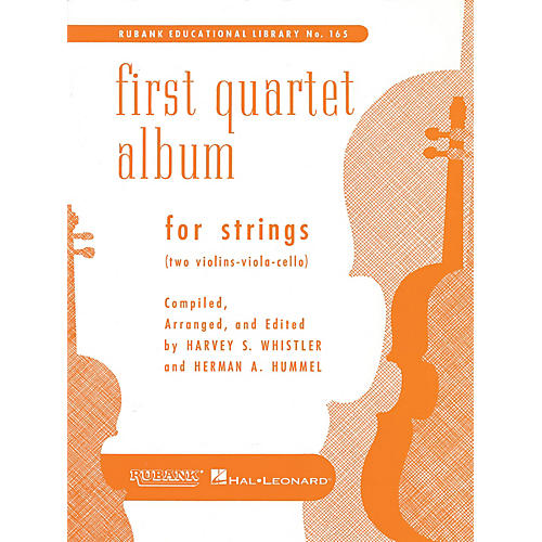 Rubank Publications First Quartet Album for Strings Ensemble Collection Series Arranged by Harvey S. Whistler thumbnail