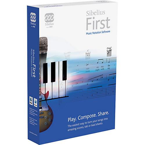 Sibelius First Software thumbnail