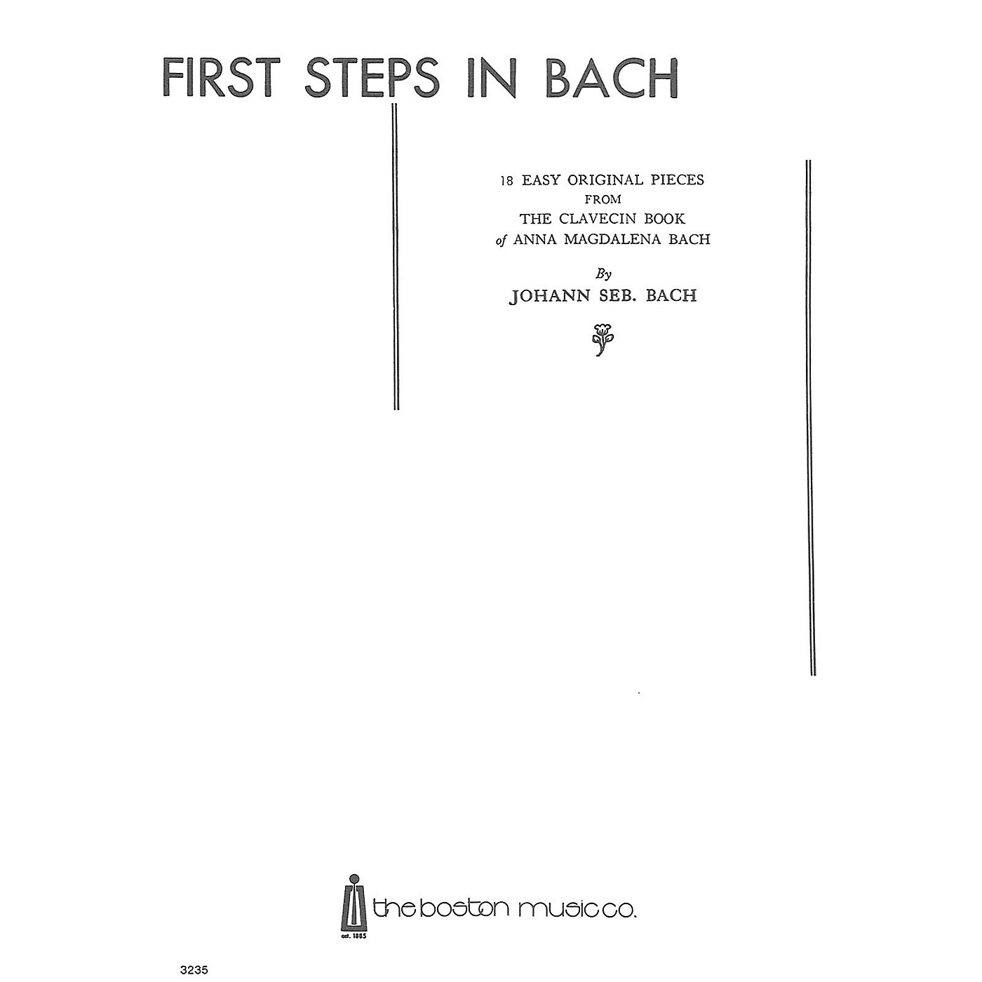 Music Sales First Steps In Bach Music Sales America Series thumbnail