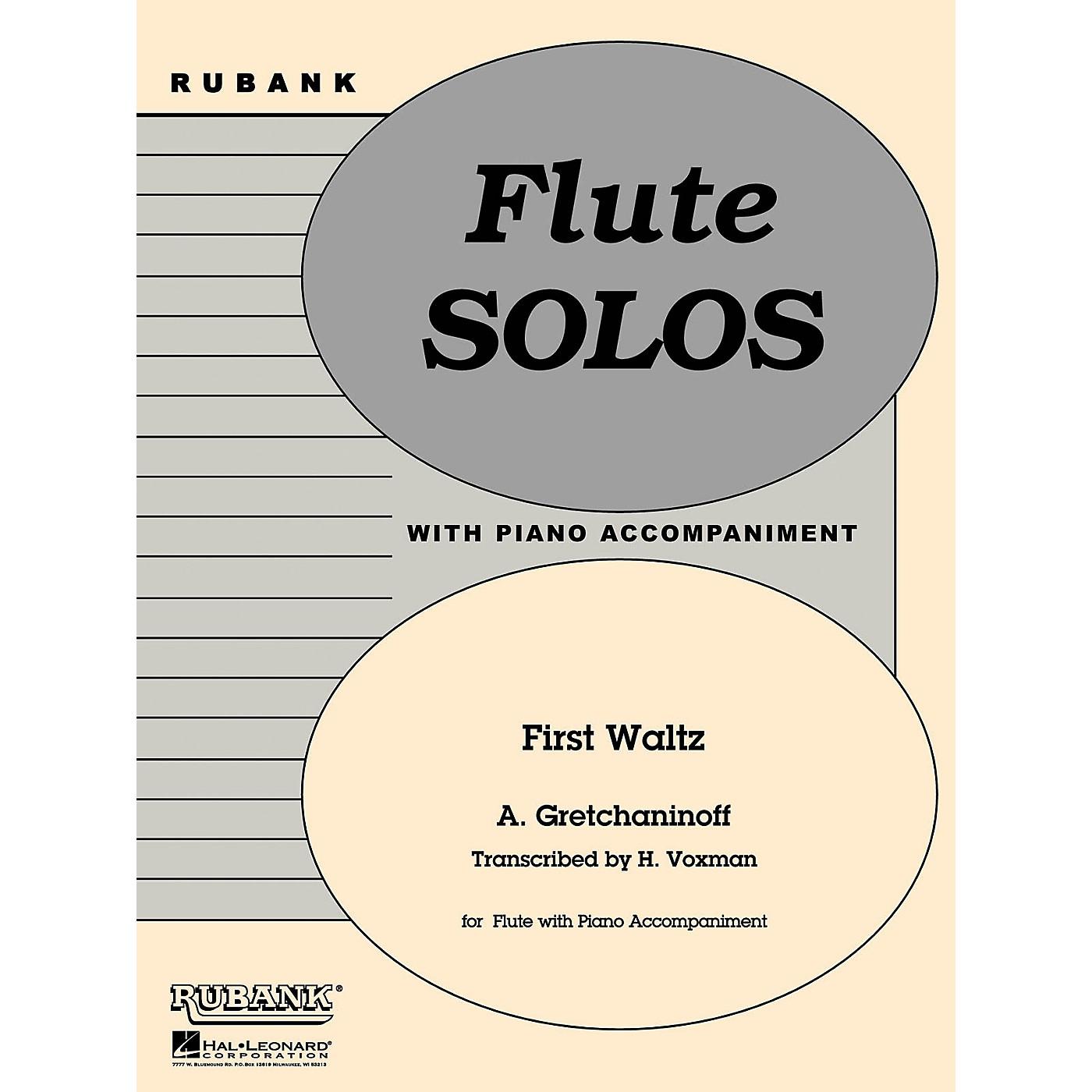 Rubank Publications First Waltz (Flute Solo with Piano - Grade 1) Rubank Solo/Ensemble Sheet Series thumbnail