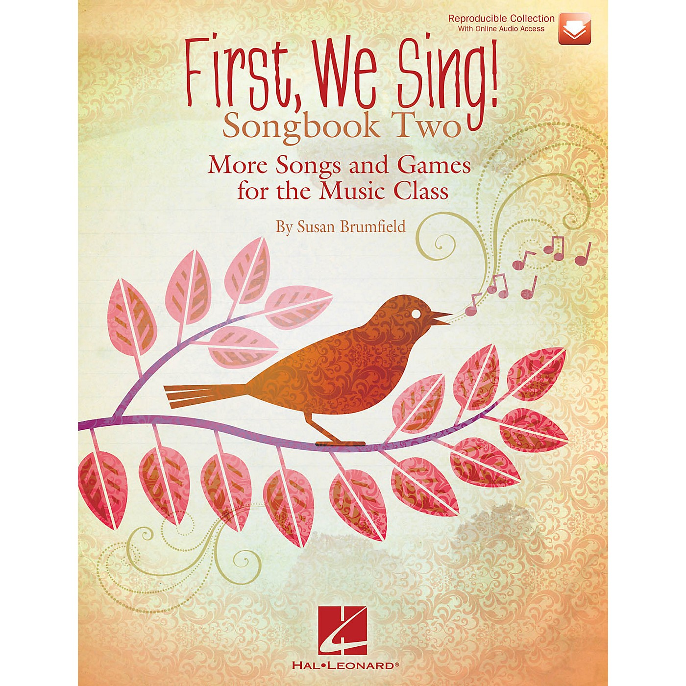 Hal Leonard First We Sing! Songbook Two Book and CD pak Composed by Susan Brumfield thumbnail