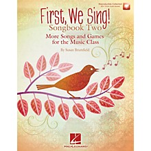 Hal Leonard First We Sing! Songbook Two Book and CD pak Composed by Susan Brumfield
