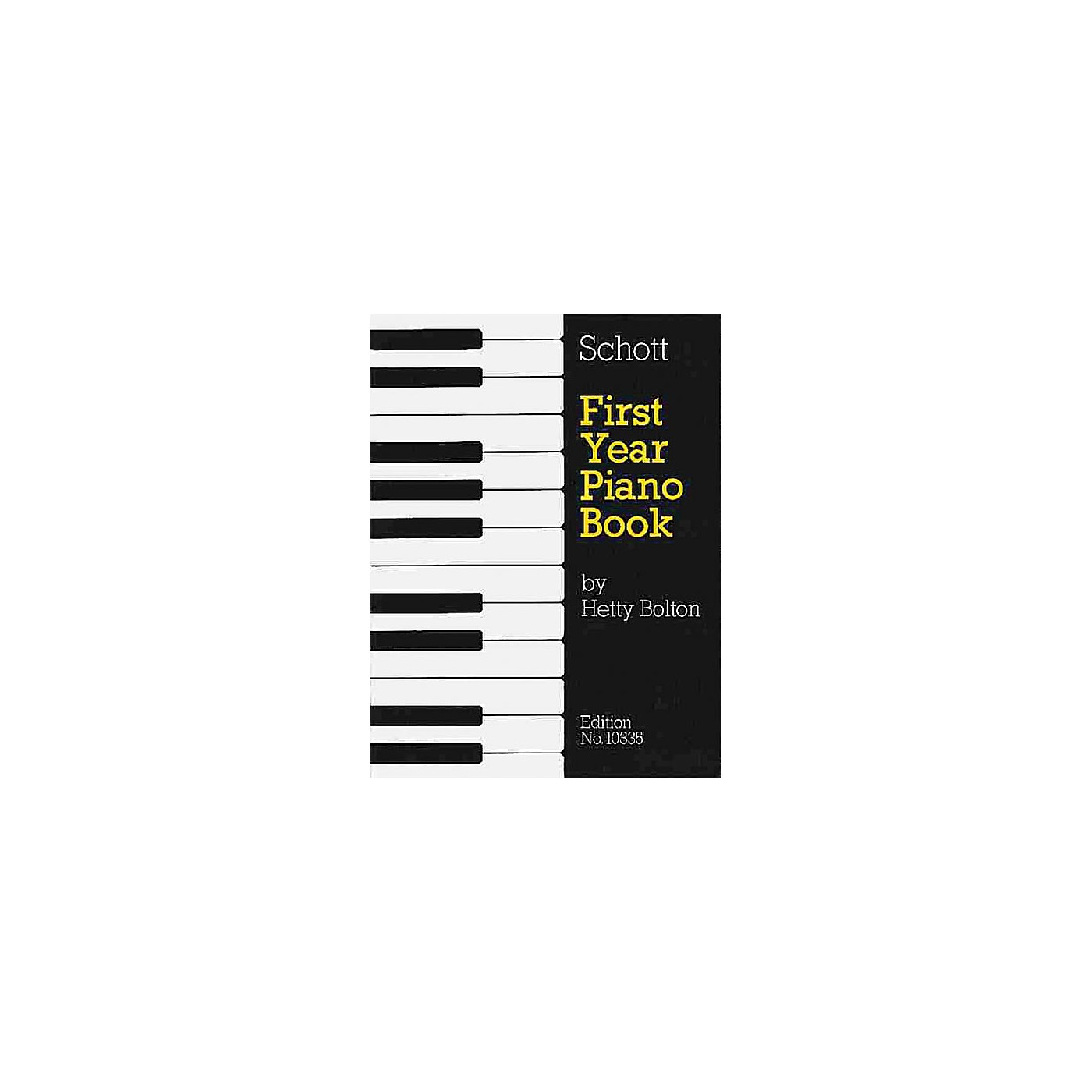 Schott First Year Piano Book - Volume 1 (Tunes from the Past) Schott Series thumbnail