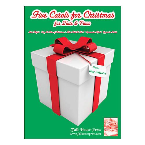 Theodore Presser Five Carols For Christmas (Book + Sheet Music)-thumbnail