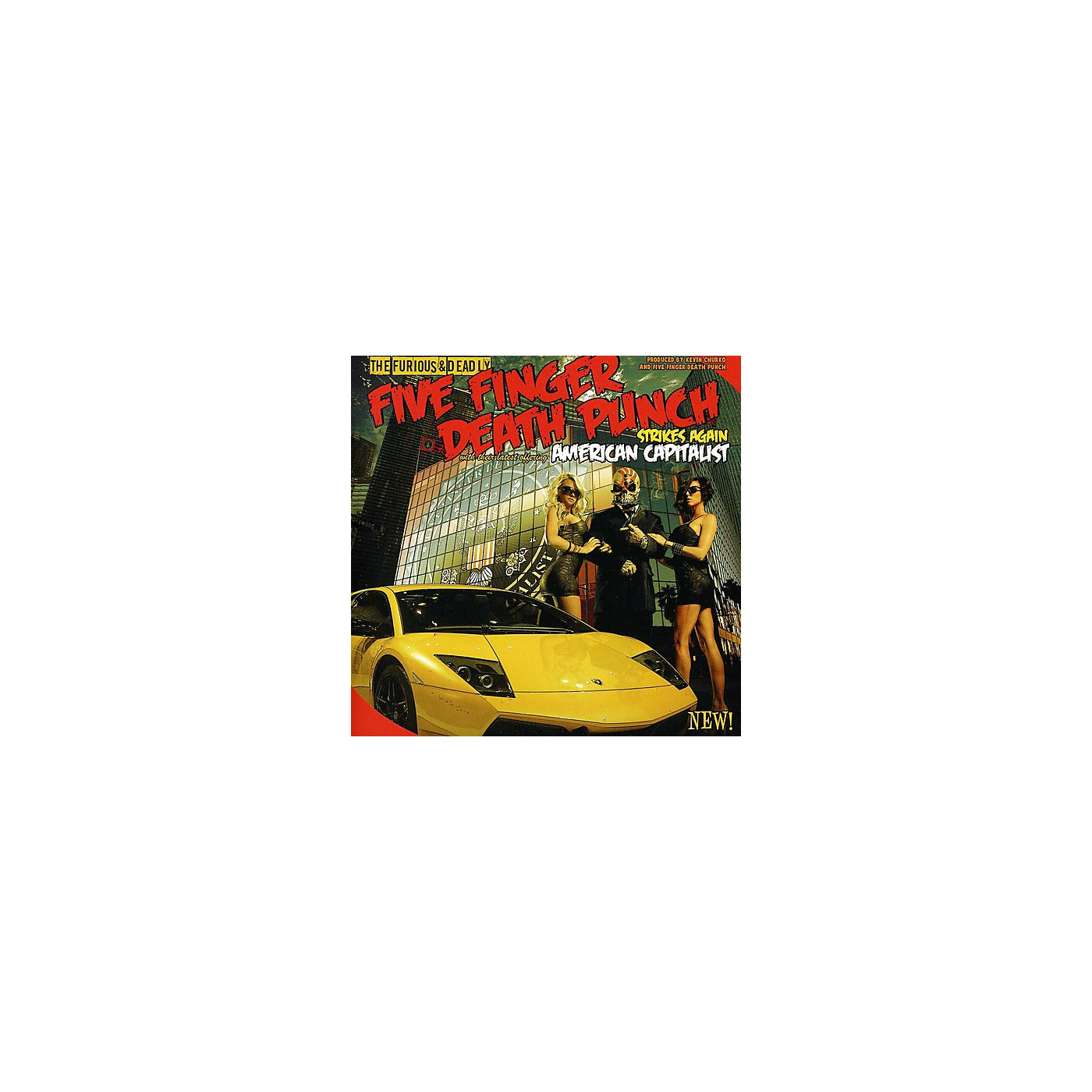 Alliance Five Finger Death Punch - American Capitalist (CD) thumbnail
