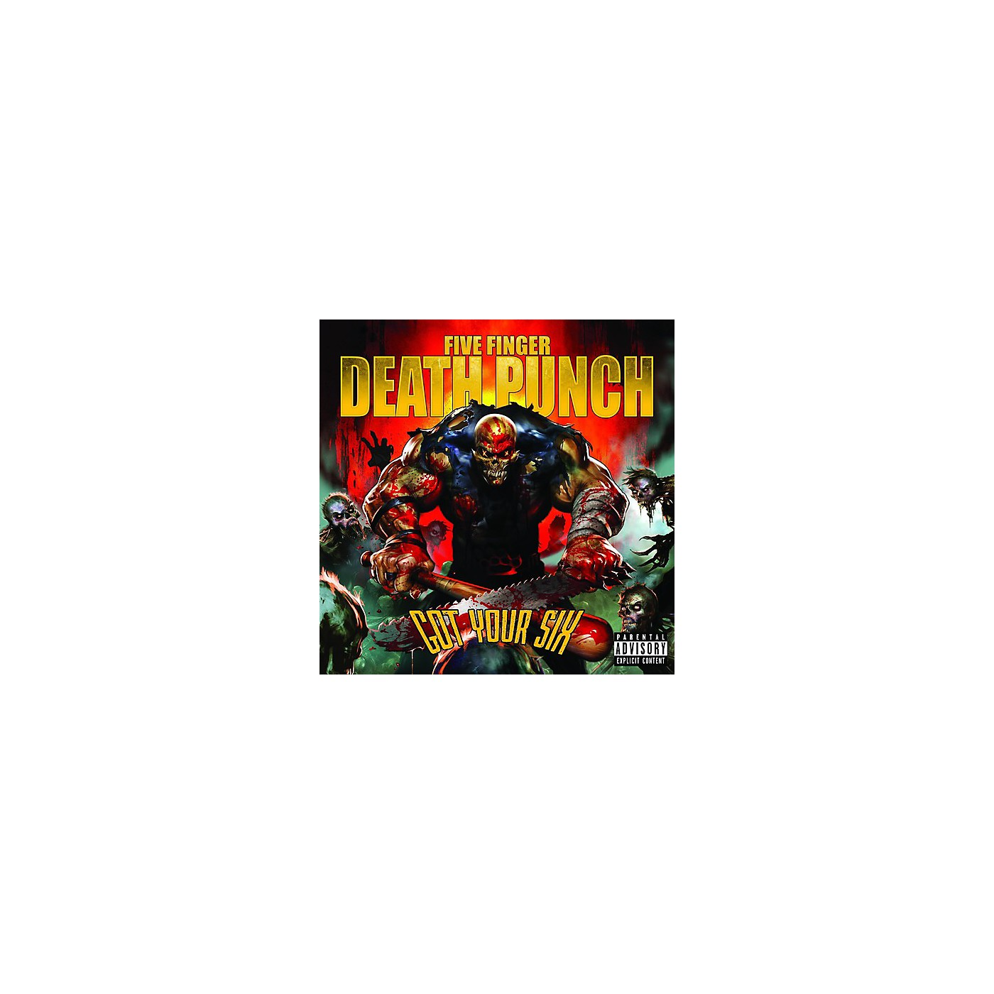 Alliance Five Finger Death Punch - Got Your Six (CD) thumbnail