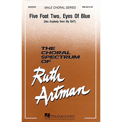 Hal Leonard Five Foot Two, Eyes of Blue TBB arranged by Ruth Artman thumbnail