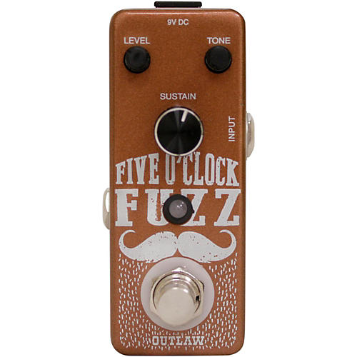 Outlaw Effects Five O'Clock Fuzz Guitar Effects Pedal thumbnail