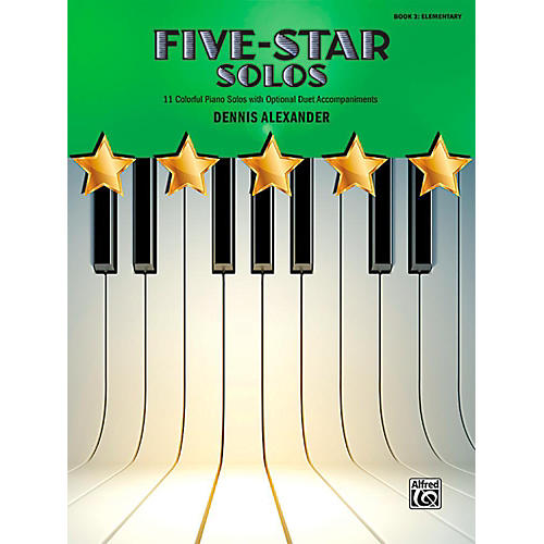 Alfred Five-Star Solos, Book 2 - Elementary thumbnail