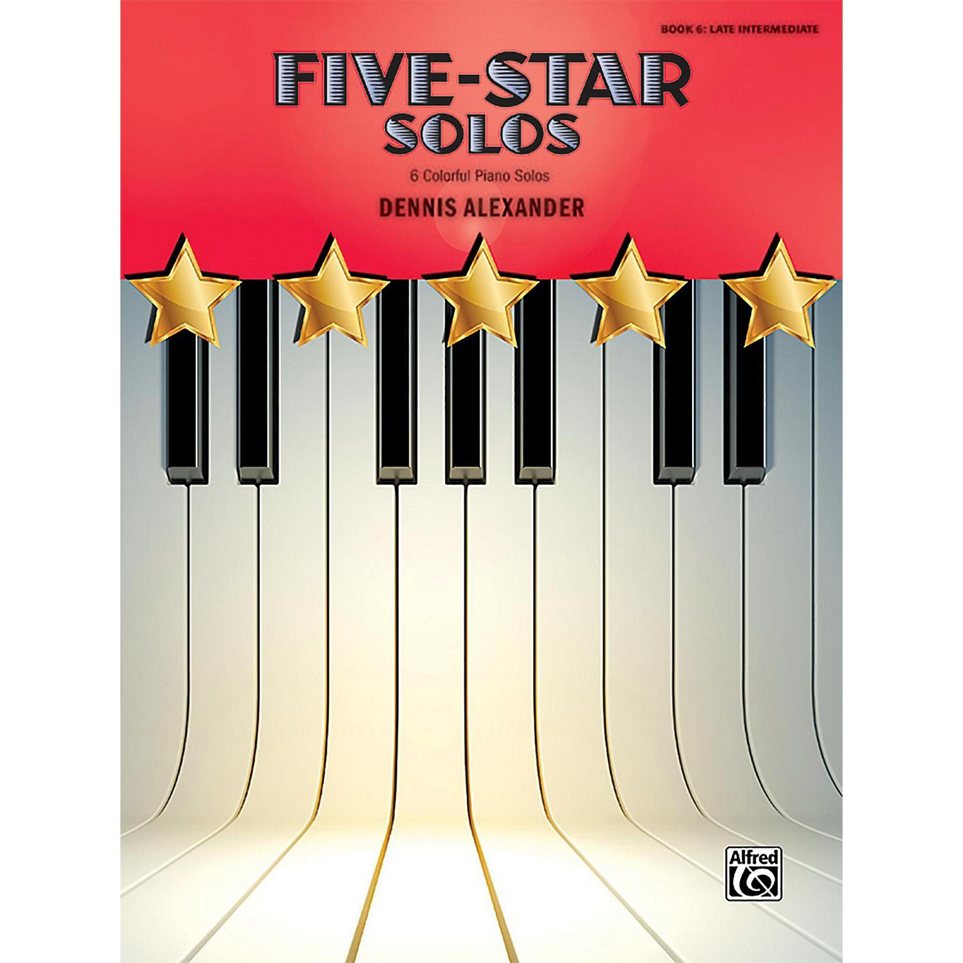 Alfred Five-Star Solos, Book 6 Late Intermediate thumbnail