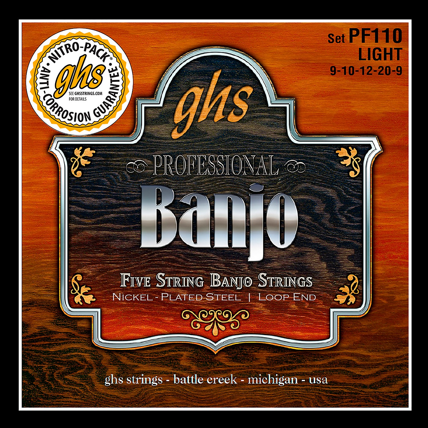 GHS Five String Banjo Light Strings thumbnail