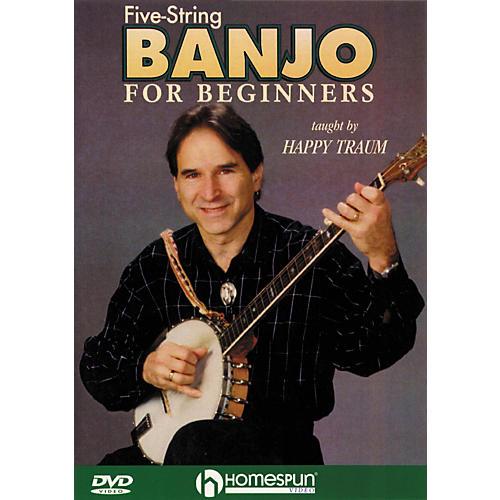 Homespun Five String Banjo for Beginners (DVD) thumbnail