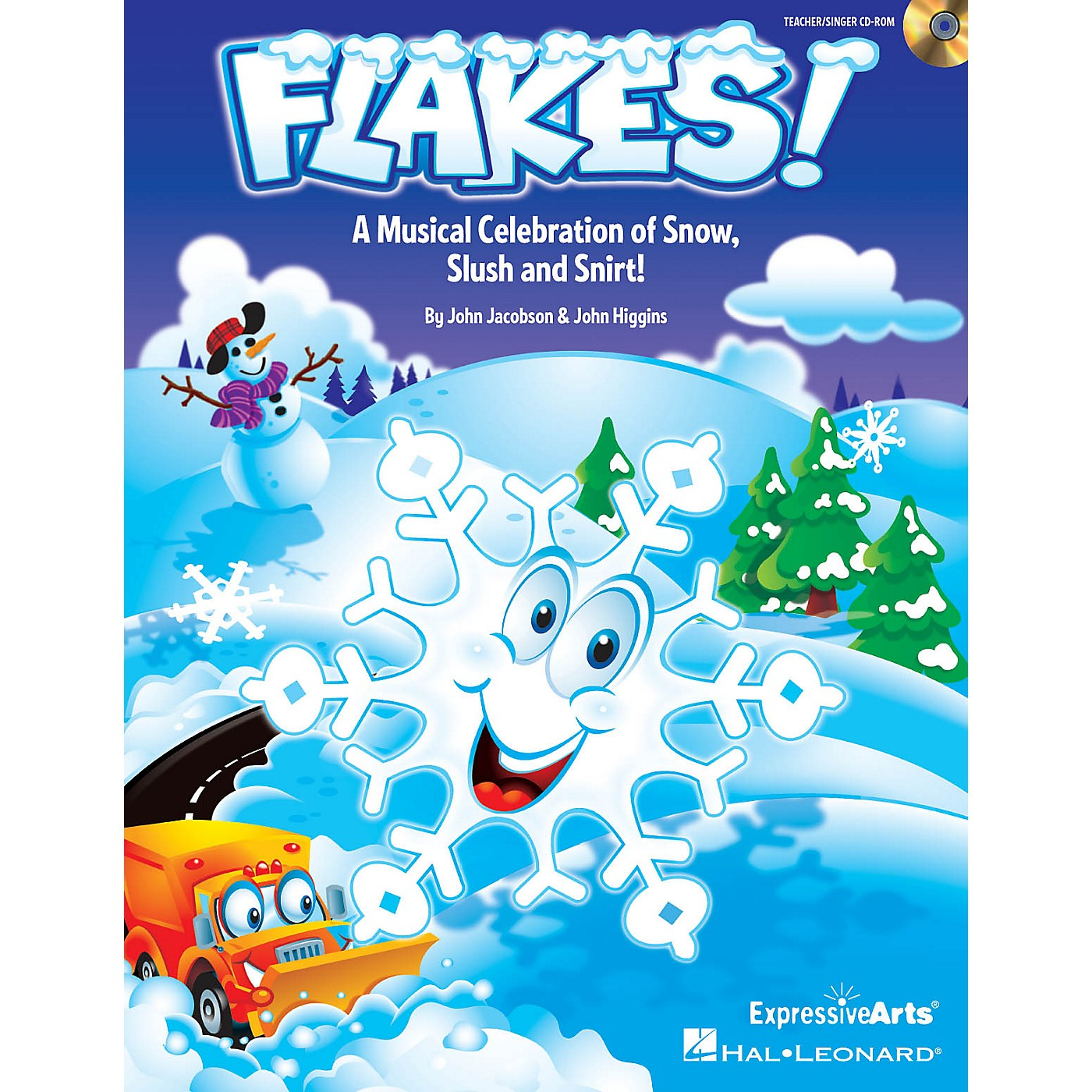 Hal Leonard Flakes! (Musical Celebration of Snow, Slush and Snirt!) TEACHER/SINGER CD-ROM Composed by John Jacobson thumbnail