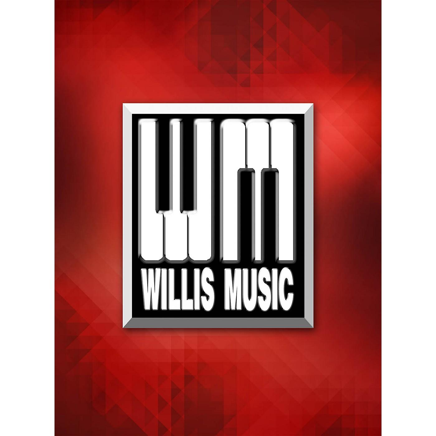 Willis Music Flamenco (Early Intermediate Level) Willis Series by William Gillock (Early Intermediate) thumbnail