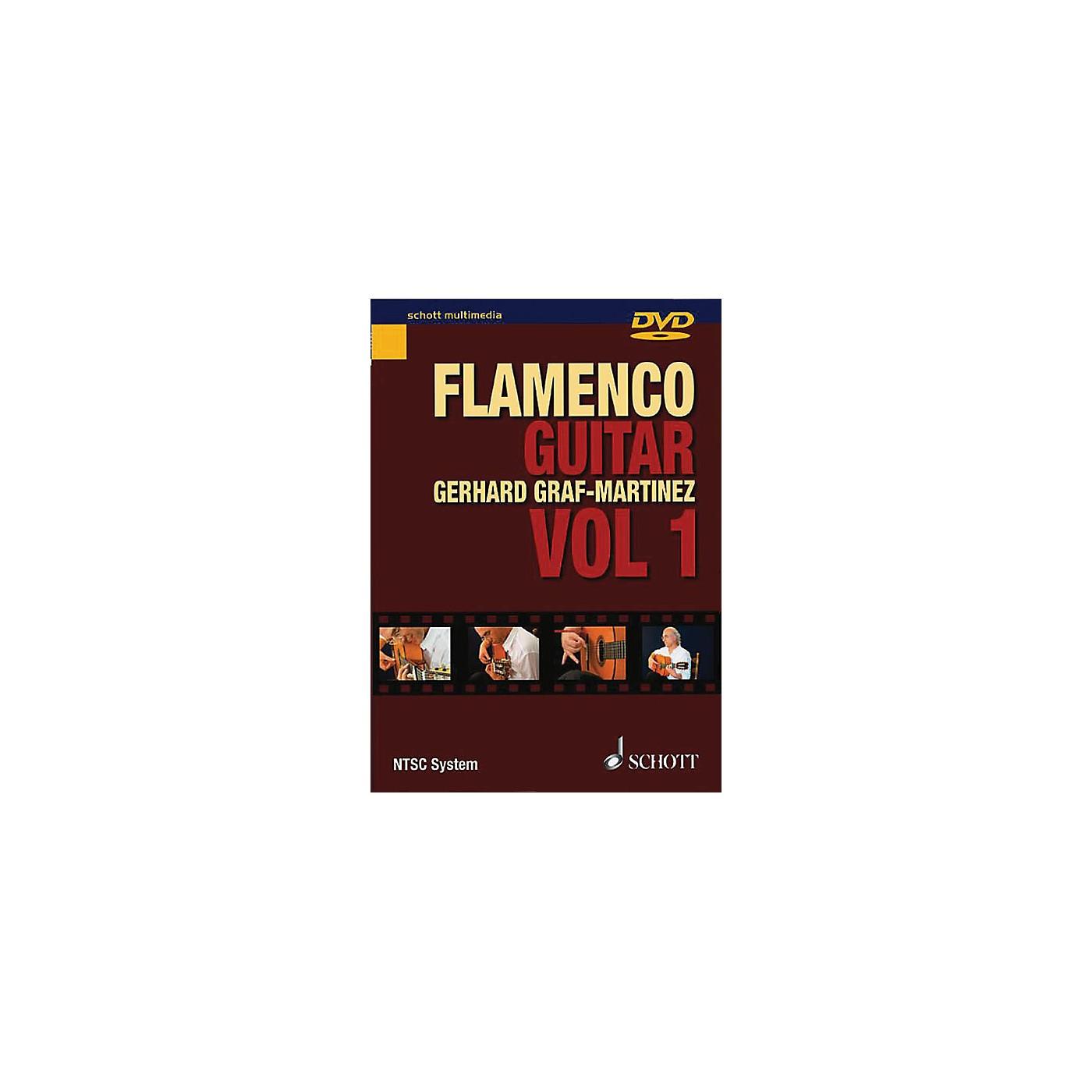 Schott Flamenco Guitar Vol. 1 Schott Series DVD Written by Gerhard Graf-Martinez thumbnail
