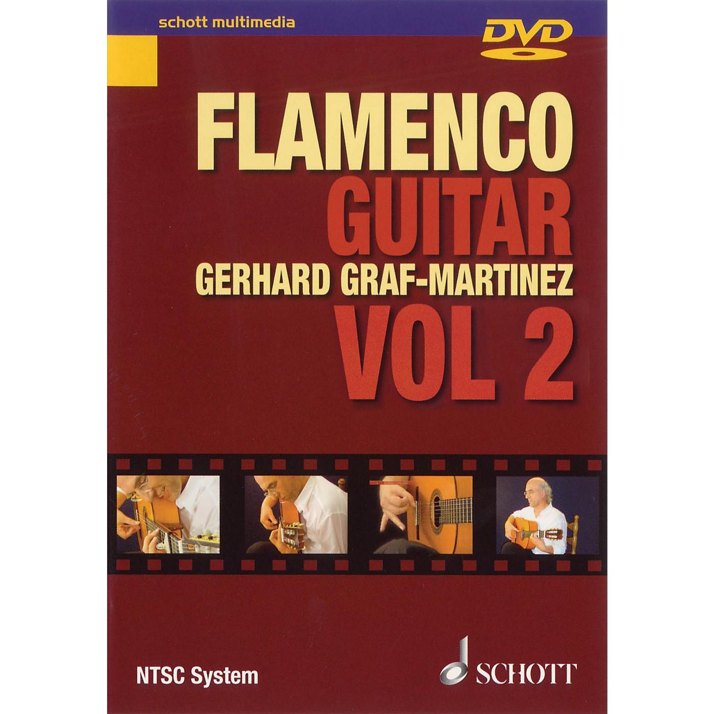Schott Flamenco Guitar Vol. 2 Schott Series DVD Written by Gerhard Graf-Martinez thumbnail
