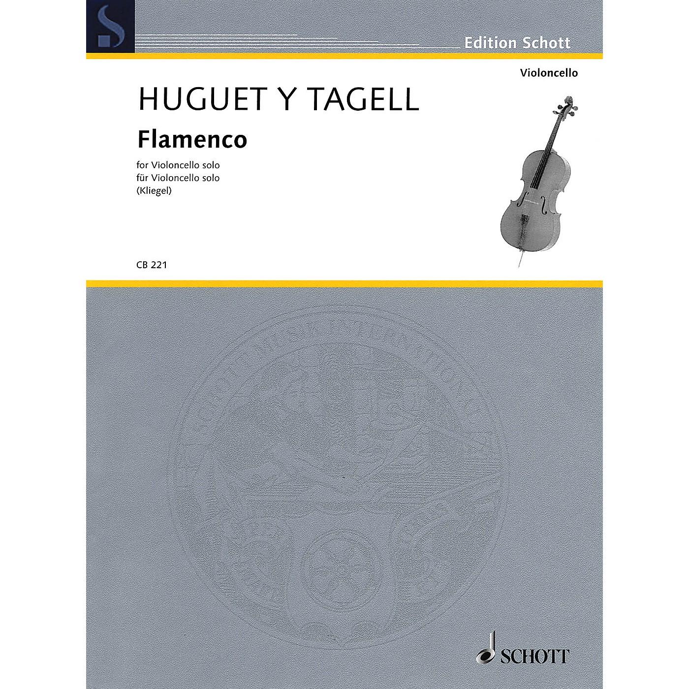 Schott Flamenco from Suite espagnole No. 1 (Cello Solo) String Solo Series Softcover thumbnail