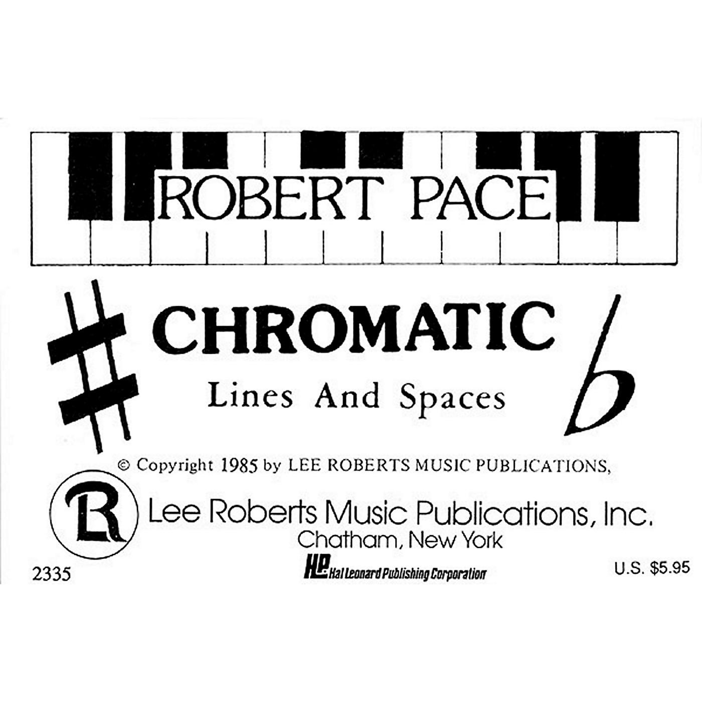 Hal Leonard Flash Cards - Chromatic Lines & Spaces thumbnail