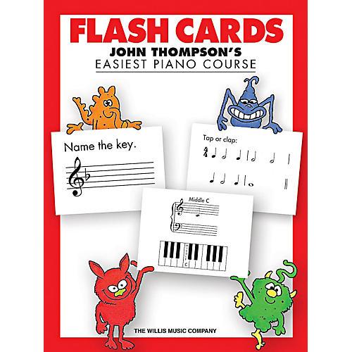 Willis Music Flash Cards - John Thompson's Easiest Piano Course thumbnail