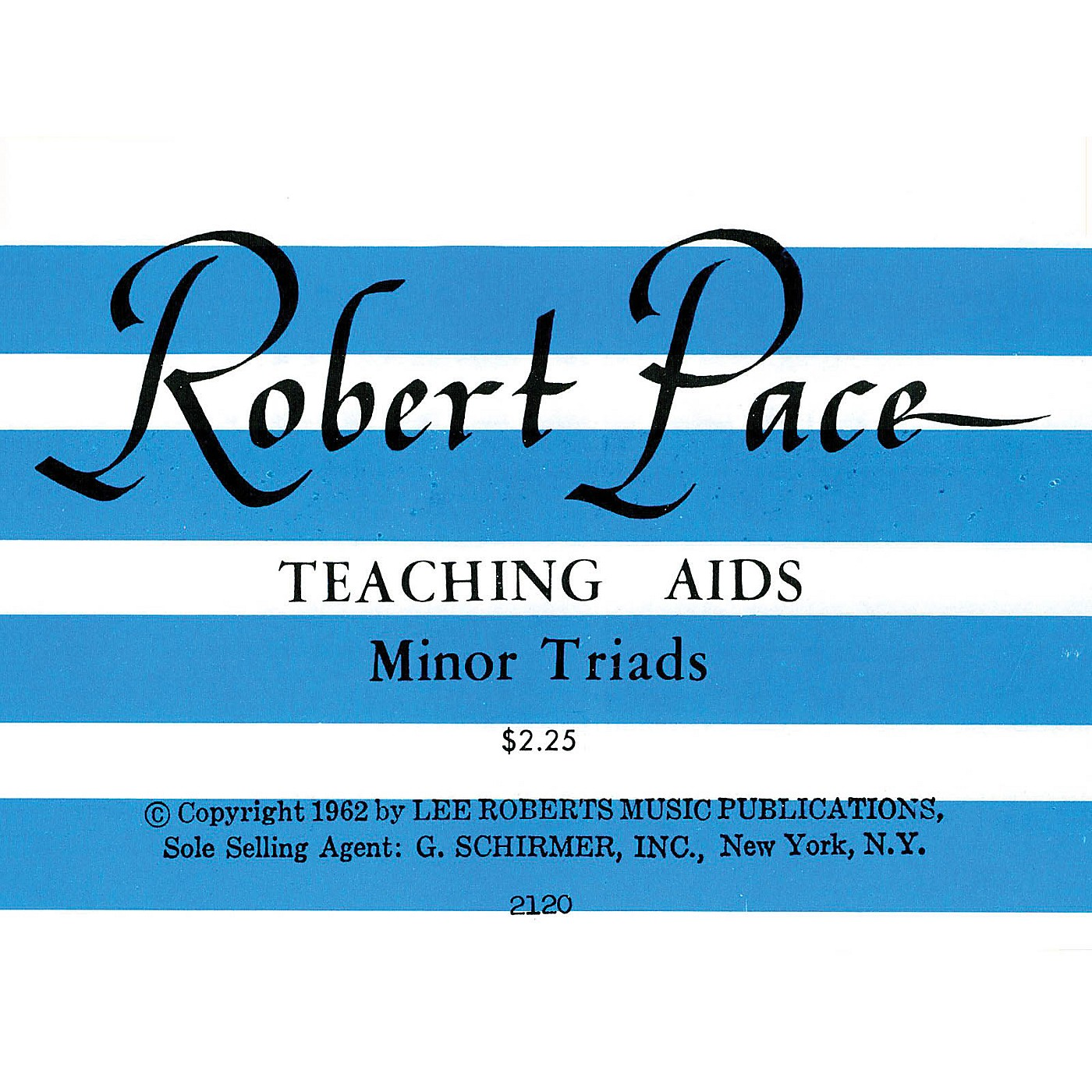Lee Roberts Flash Cards, Minor Triads Pace Piano Education Series thumbnail