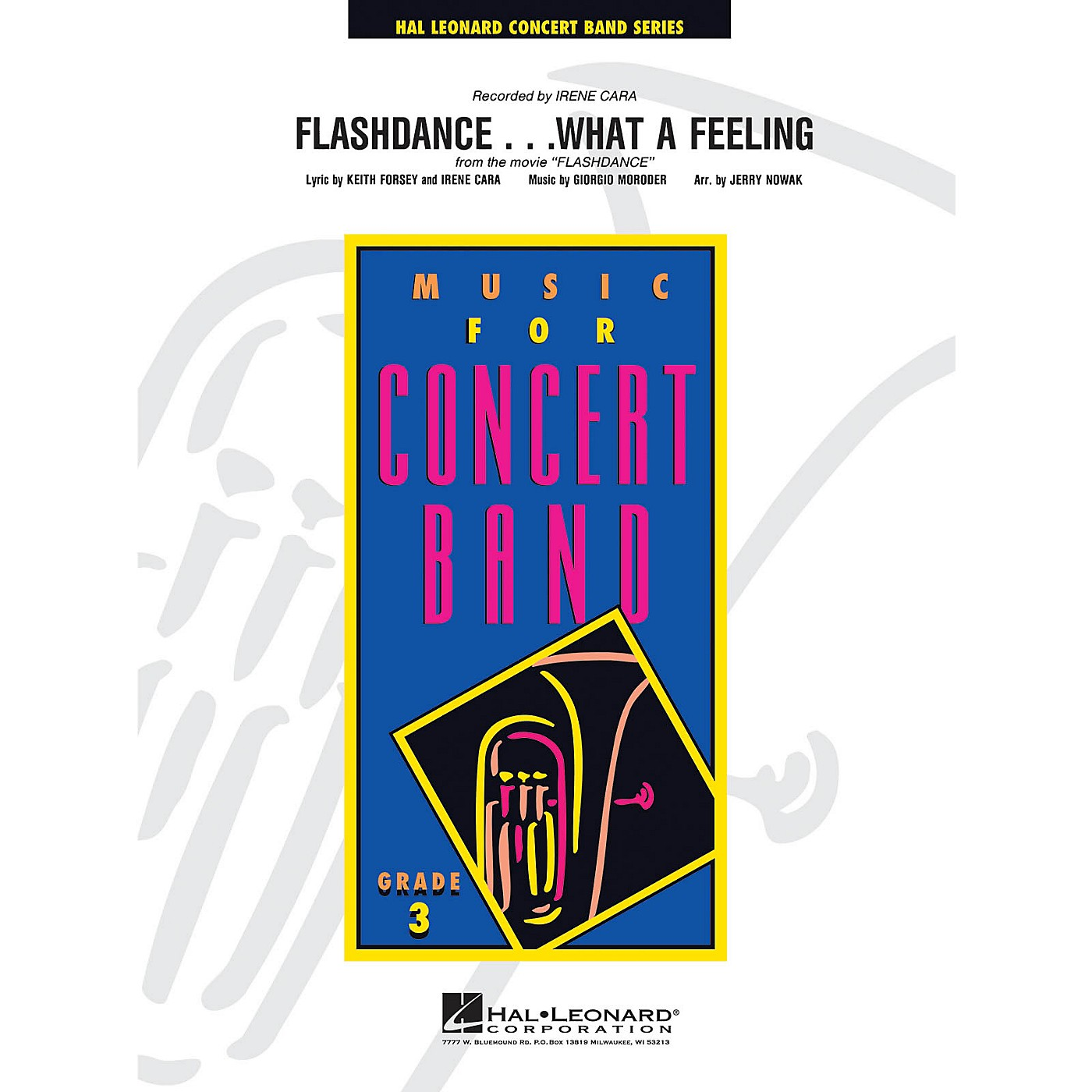 Hal Leonard Flashdance...What a Feeling - Young Concert Band Level 3 arranged by Jerry Nowak thumbnail