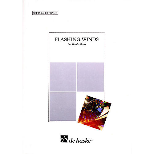 De Haske Music Flashing Winds Concert Band Level 4 Composed by Jan Van der Roost thumbnail