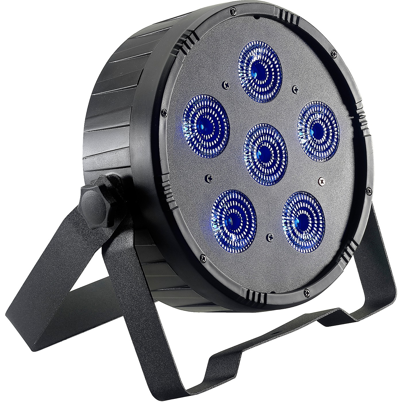 Stagg Flat ECOPAR 6 RGBWA+UV LED Spotlight Wash Light thumbnail
