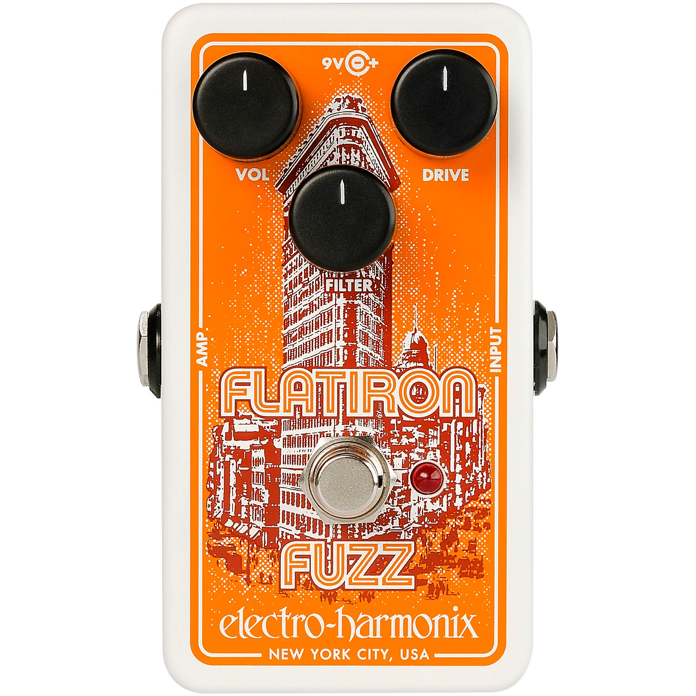 Electro-Harmonix Flatiron Fuzz Op-Amp Powered Fuzz/Distortion Effects Pedal thumbnail
