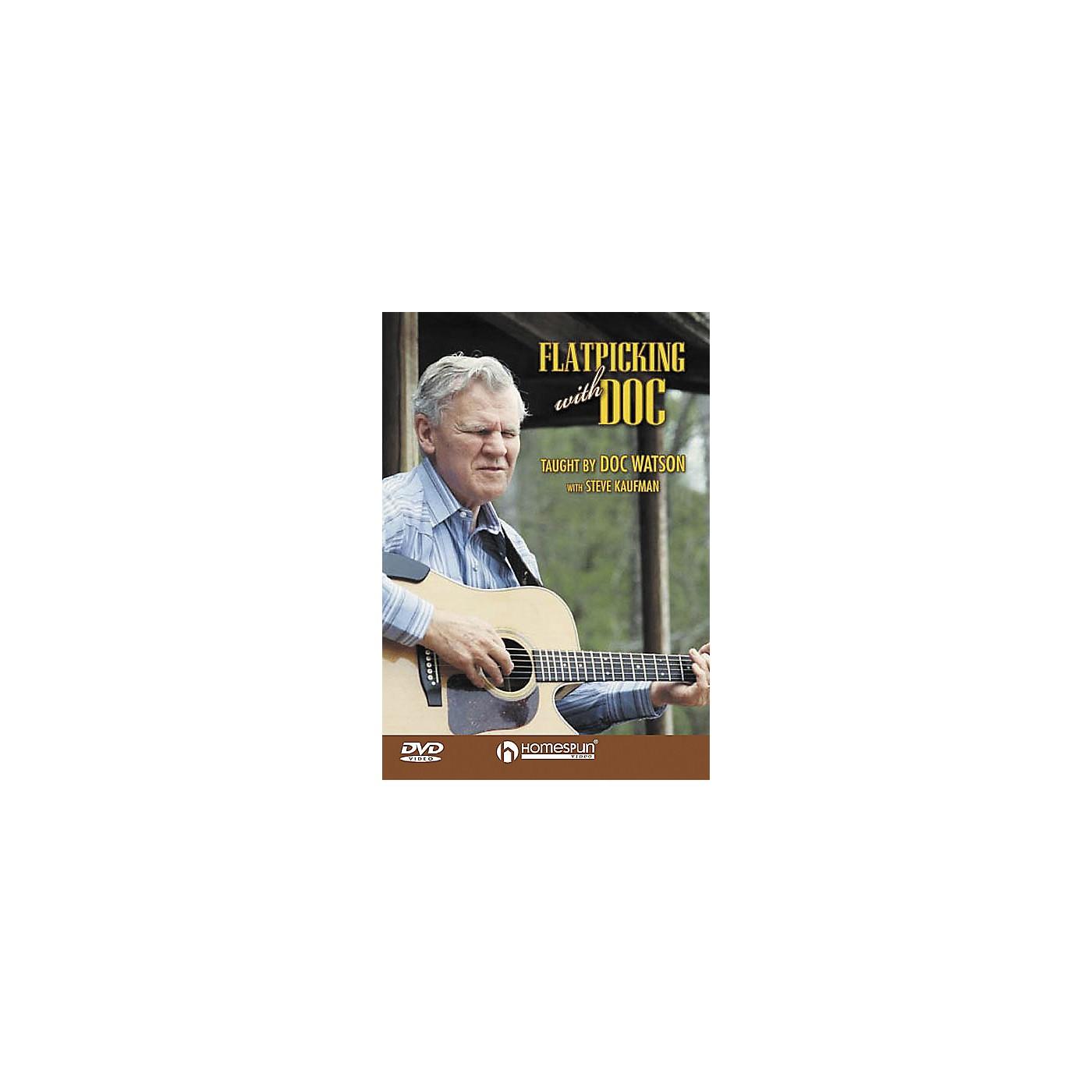 Homespun Flatpicking with Doc (DVD) thumbnail