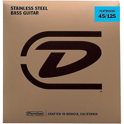 Dunlop Flatwound Bass Strings MD - 5 Set thumbnail