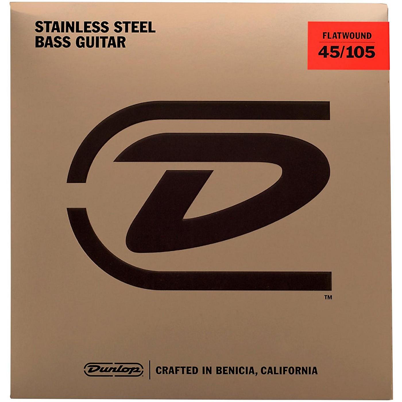 Dunlop Flatwound Bass Strings thumbnail