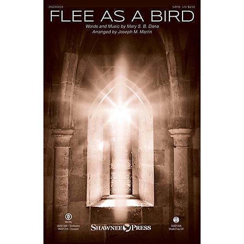 Shawnee Press Flee As a Bird SATB arranged by Joseph M. Martin thumbnail