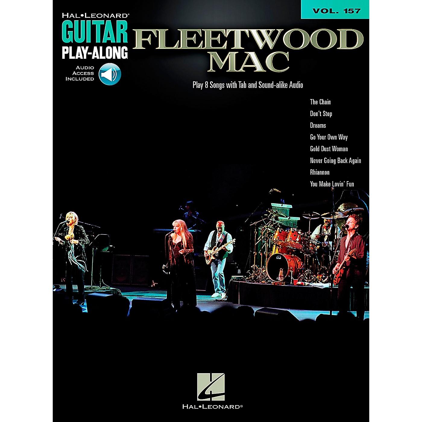 Hal Leonard Fleetwood Mac - Guitar Play-Along Book/CD Vol. 157 thumbnail