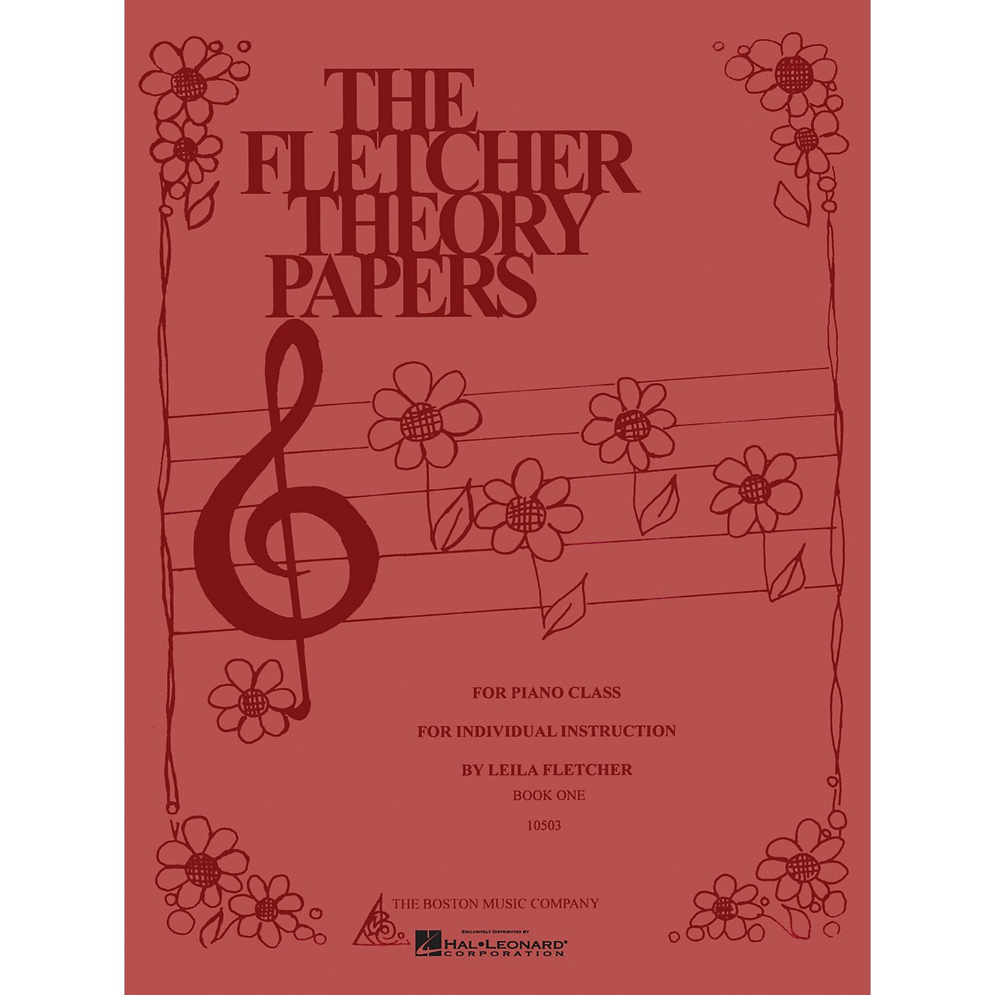 Boston Music Fletcher Theory Papers (Book 1) Music Sales America Series Softcover Written by Leila Fletcher thumbnail