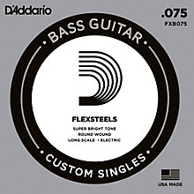 D'Addario FlexSteels Long Scale Bass Guitar Single String (.075)