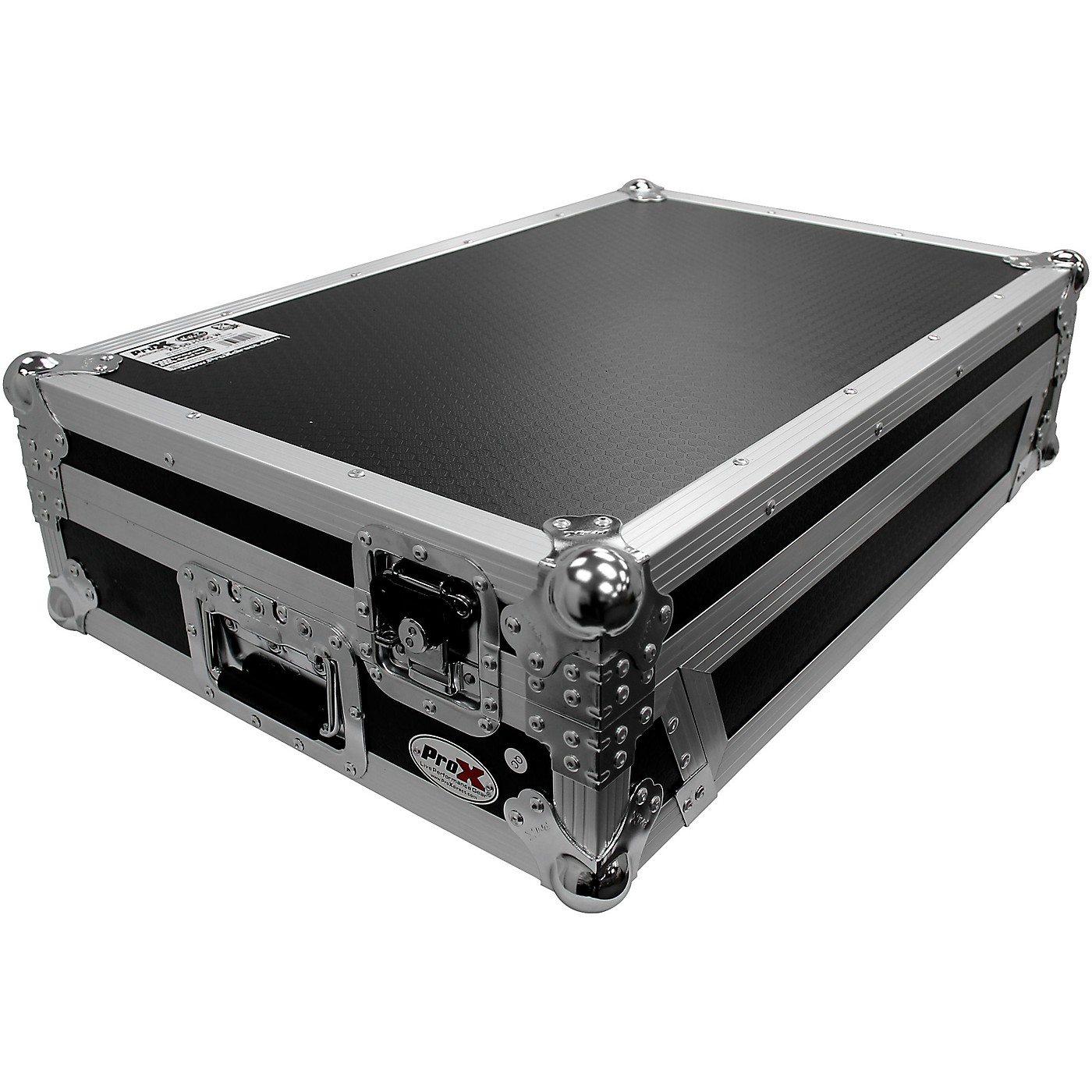 ProX Flight Case For RANE ONE DJ Controller with 1U Rack and Wheels thumbnail