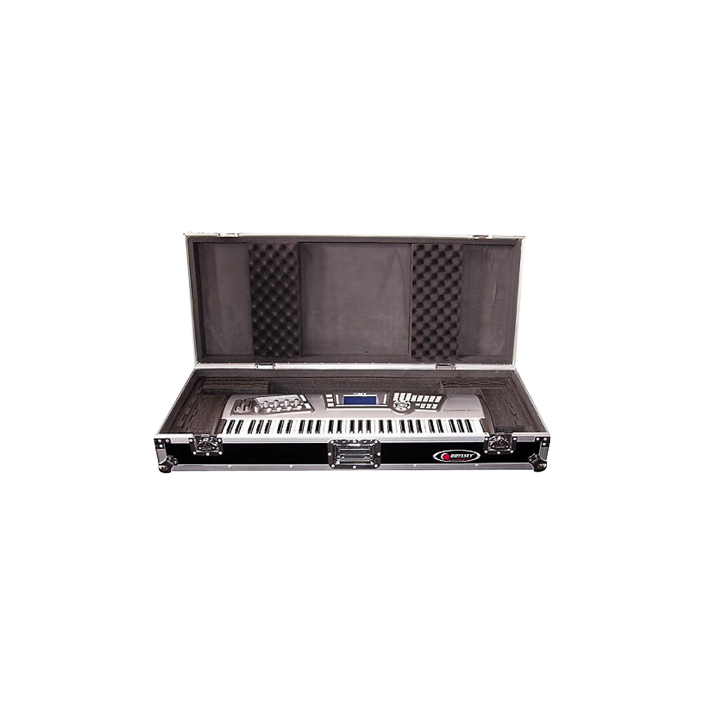 Odyssey Flight Zone: Keyboard case for 61 note keyboards with wheels thumbnail
