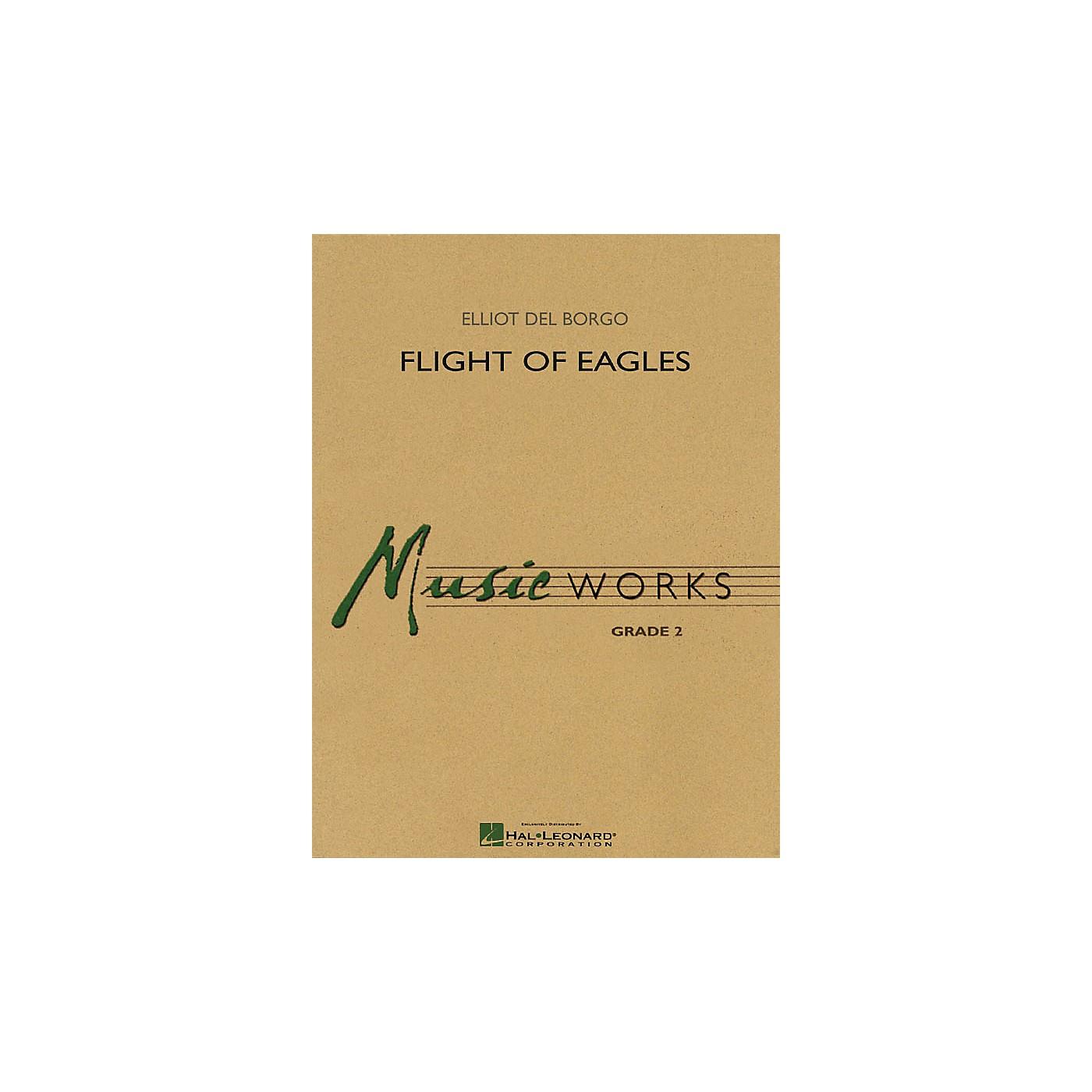 Hal Leonard Flight of Eagles Concert Band Level 2 Composed by Elliot Del Borgo thumbnail