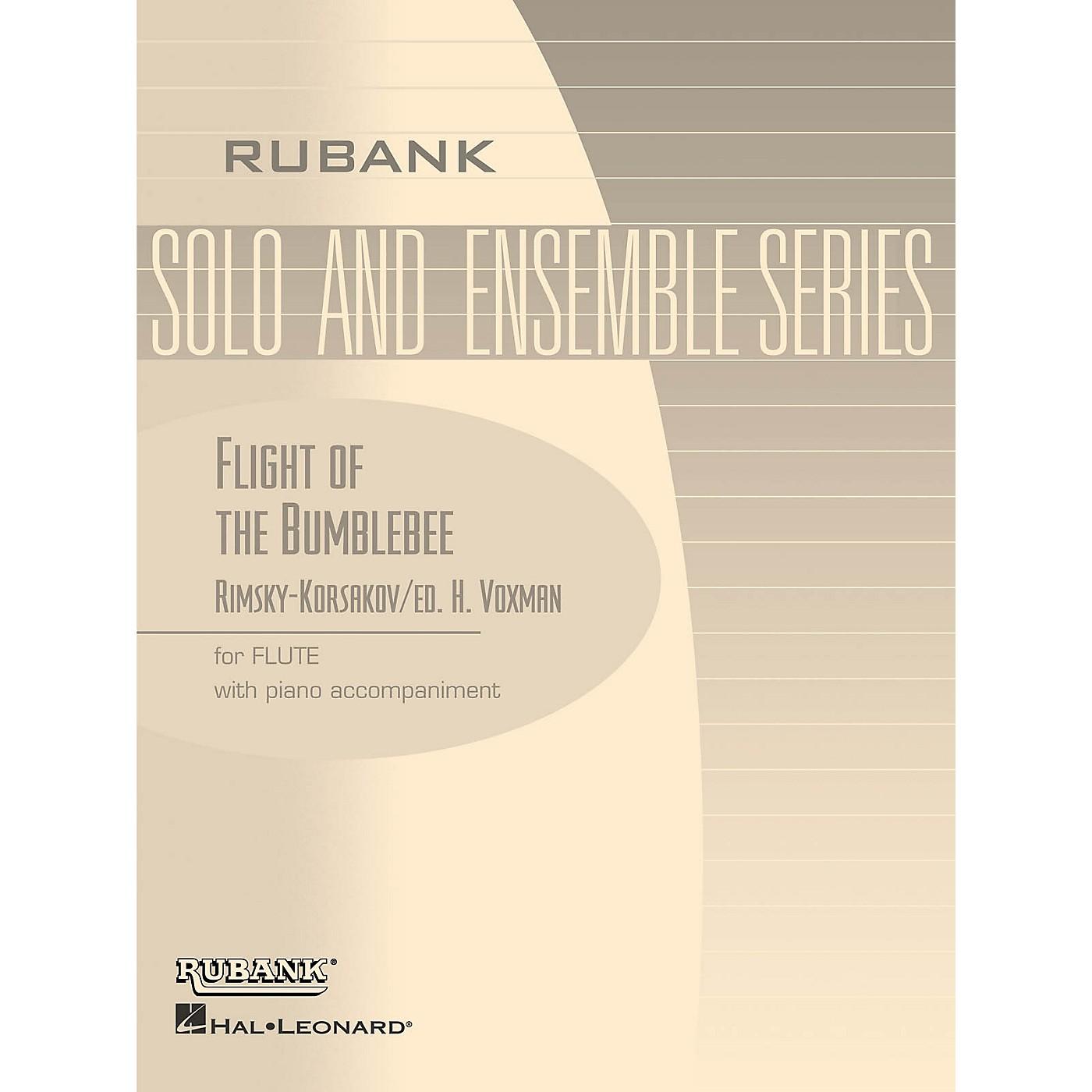 Rubank Publications Flight of the Bumblebee (Flute Solo with Piano - Grade 4.5) Rubank Solo/Ensemble Sheet Series thumbnail