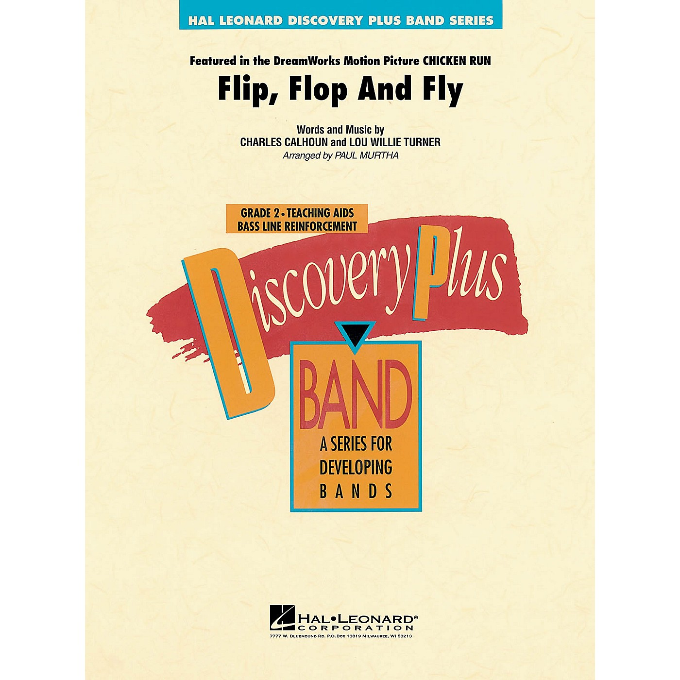 Hal Leonard Flip, Flop and Fly - Discovery Plus Concert Band Series Level 2 arranged by Paul Murtha thumbnail
