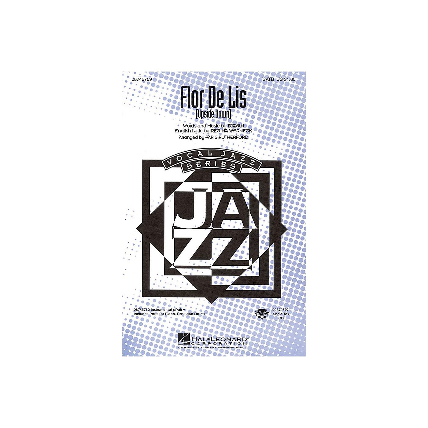 Hal Leonard Flor De Lis (Upside Down) ShowTrax CD Arranged by Paris Rutherford thumbnail