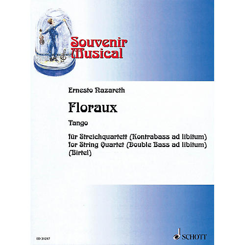 Schott Music Floraux Schott Series Softcover Composed by Ernesto Nazareth Arranged by Wolfgang Birtel thumbnail