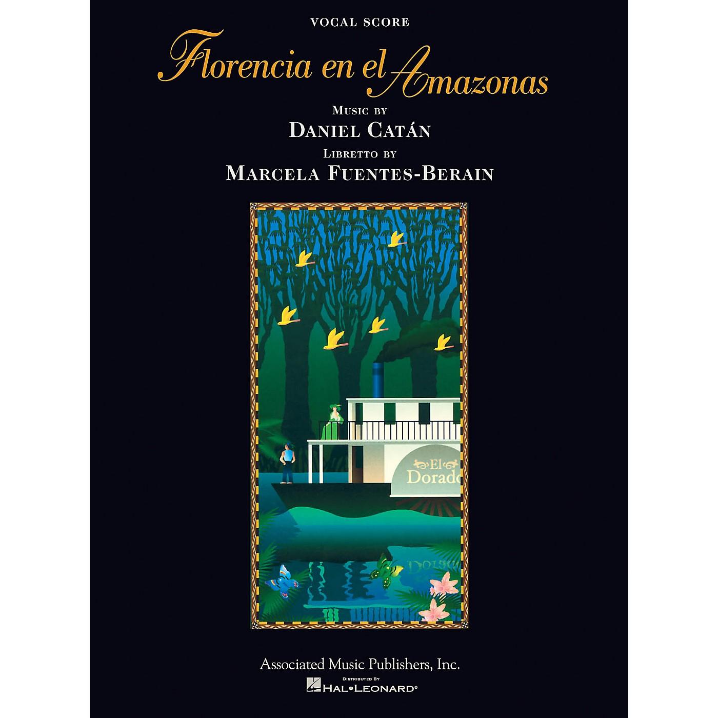 Associated Florencia En El Amazonas (Opera Vocal Score) Opera Series Softcover  by Daniel Catán thumbnail