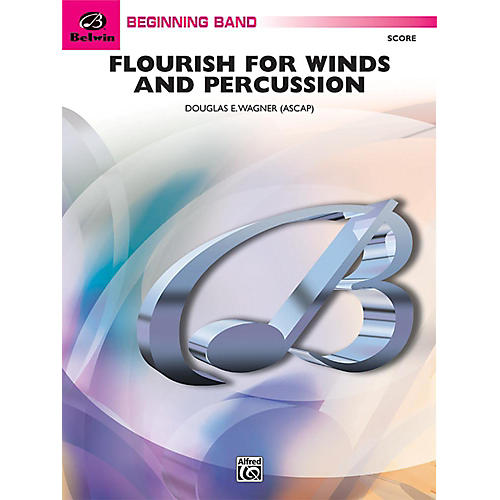 Alfred Flourish for Winds and Percussion Concert Band Grade 1 Set thumbnail