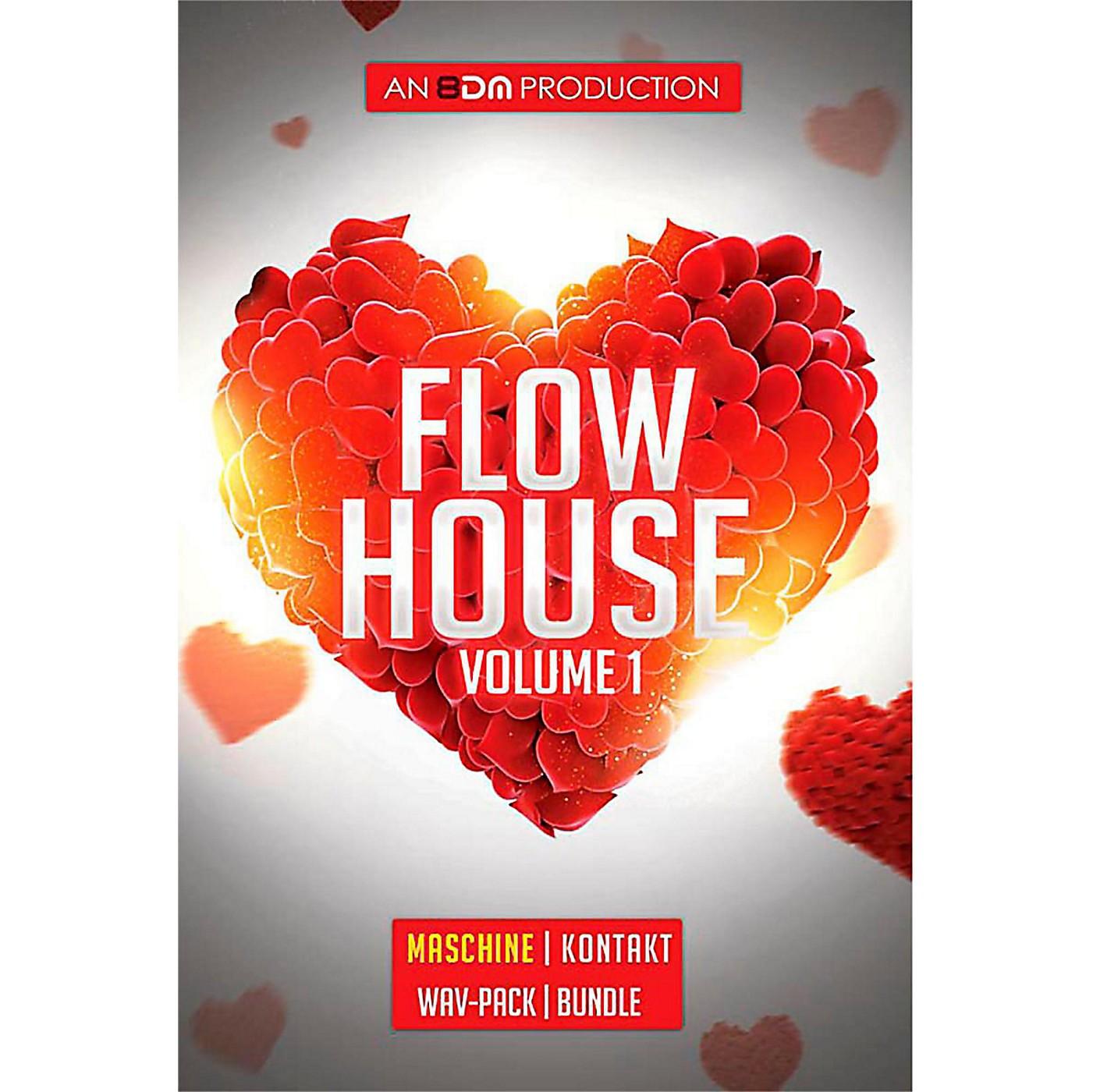 8DM Flow House Vol 1 Maschine EXP Pack thumbnail