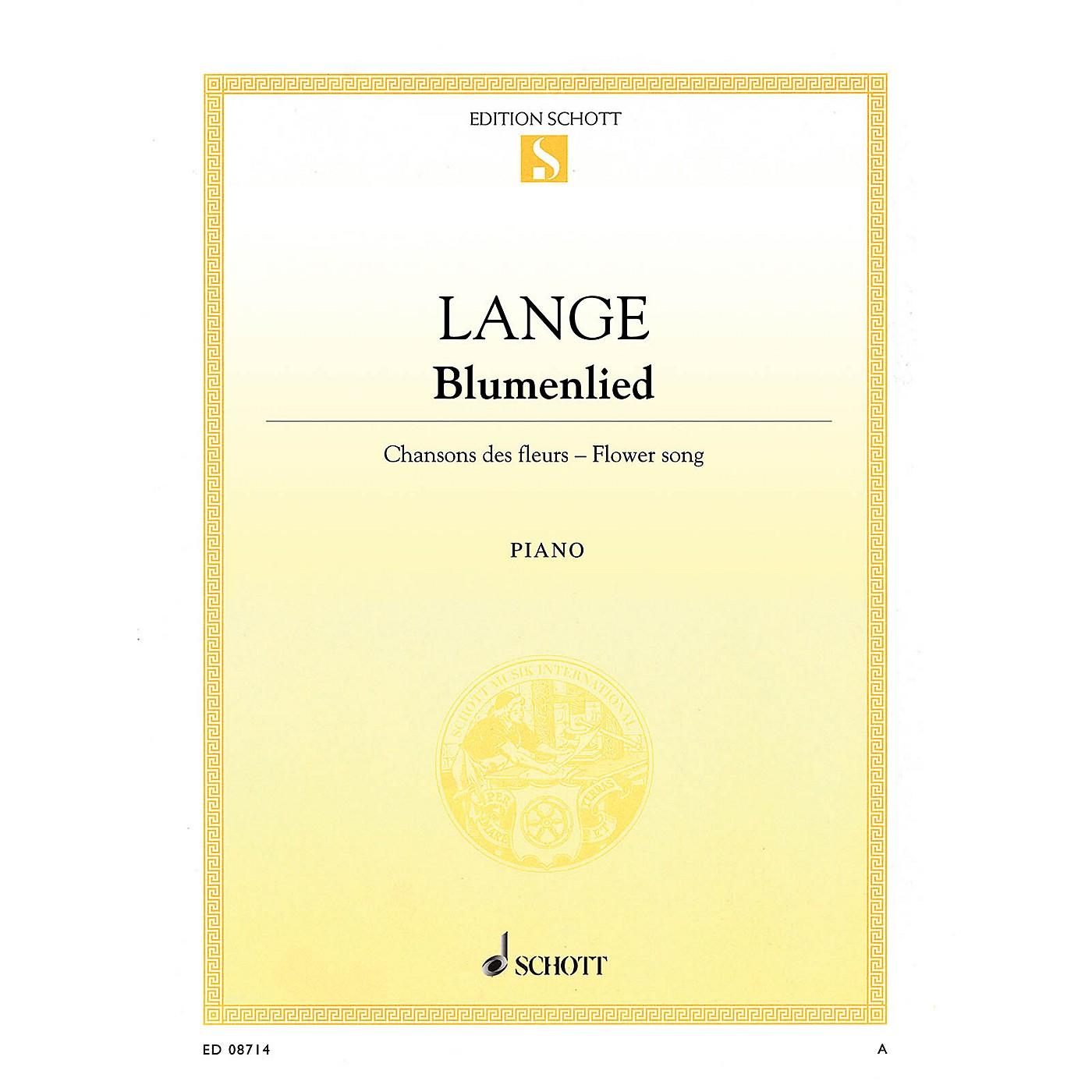 Schott Flower Song, Op. 39 (Blumenlied) Schott Series thumbnail