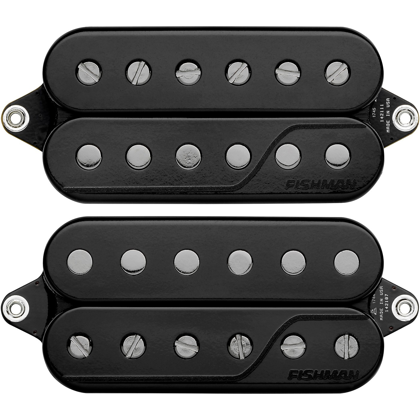 Fishman Fluence Signature Series Javier Reyes 6-String Pickup Set, Black thumbnail