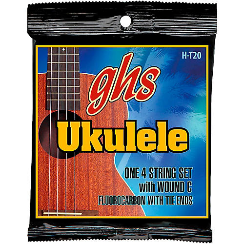 GHS Fluorocarbon Tenor Wound C Ukulele Strings thumbnail
