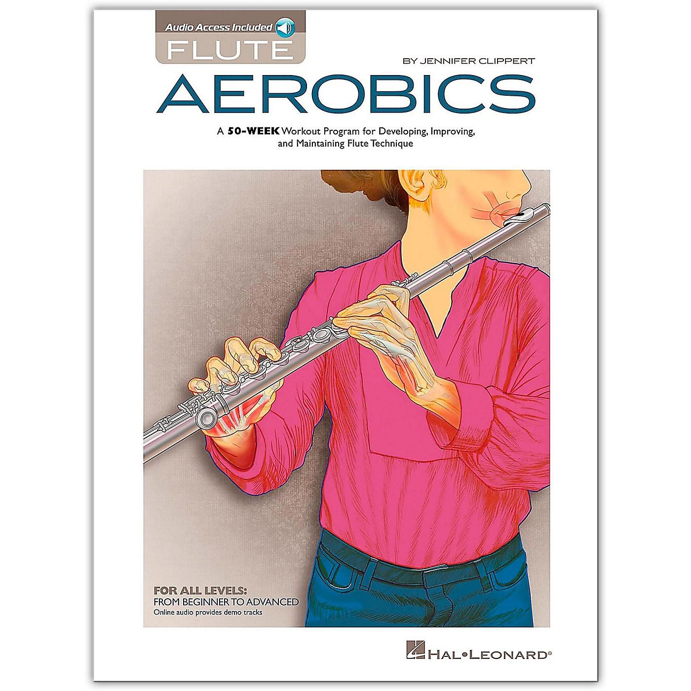 Hal Leonard Flute Aerobics Book/ Audio Online thumbnail