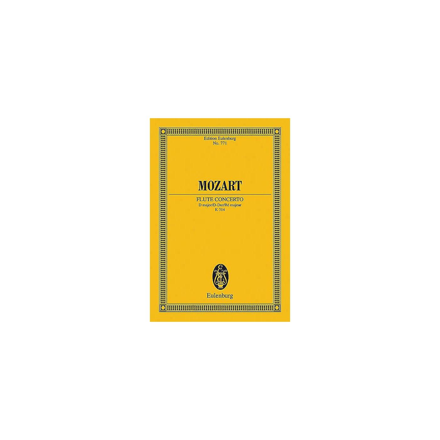 Eulenburg Flute Concerto in D Major, K. 314 Schott by Mozart Arranged by Rudolf Gerber thumbnail